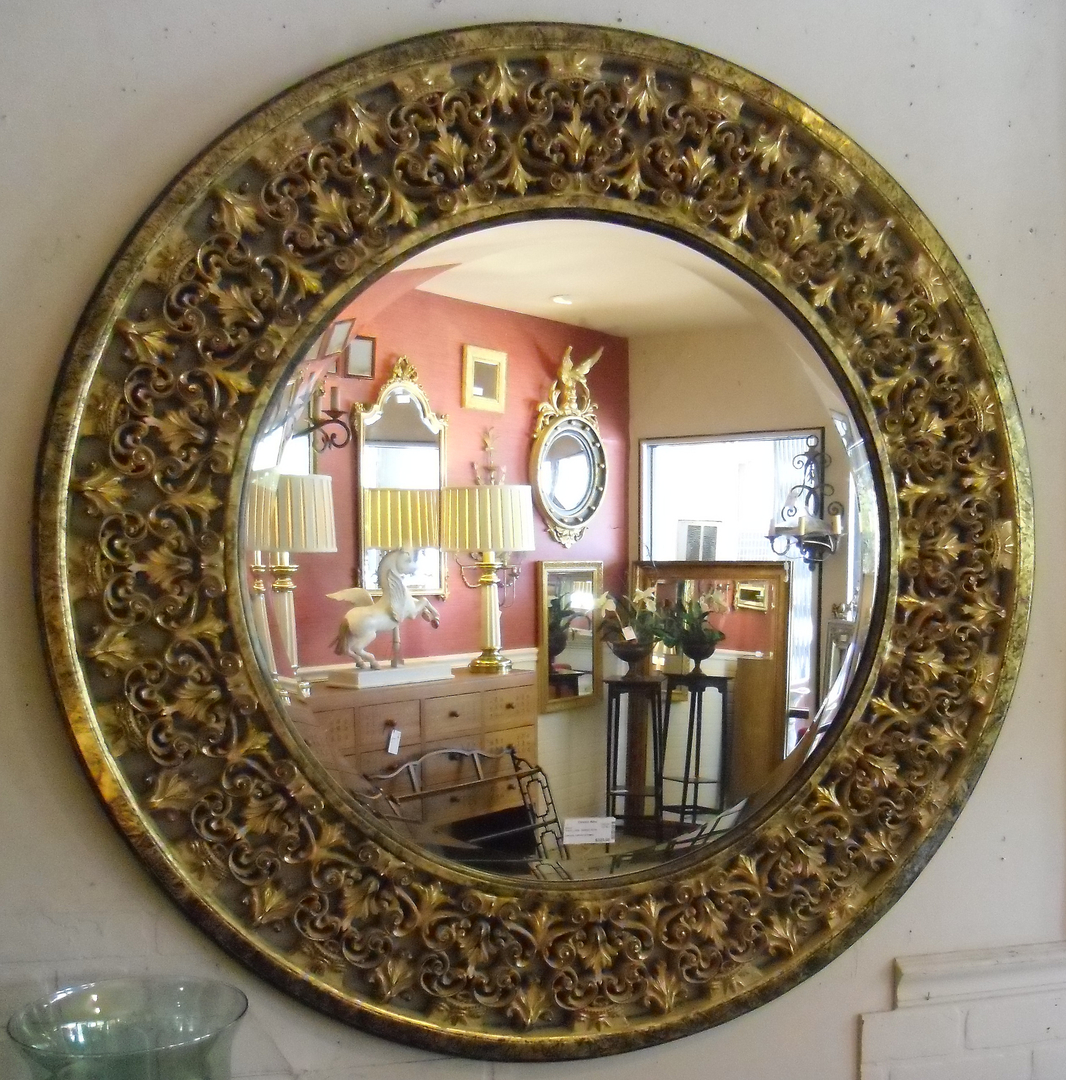 MIRRORAntique Oval Mirror - Categories : ANTIQUES dealers